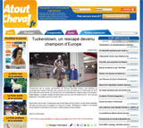 Atout Cheval : Tuckerstown, un rescap� devenu Champion d'Europe