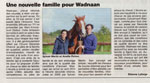 Journal Le Haut-Anjou - Ecurie seconde chance