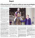 Ouest France - Ecurie seconde chance