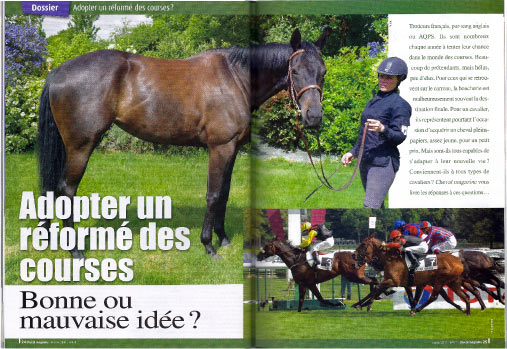 Cheval magazine - Ecurie seconde chance