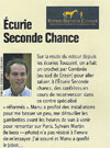 Cheval Pratique - Ecurie seconde chance